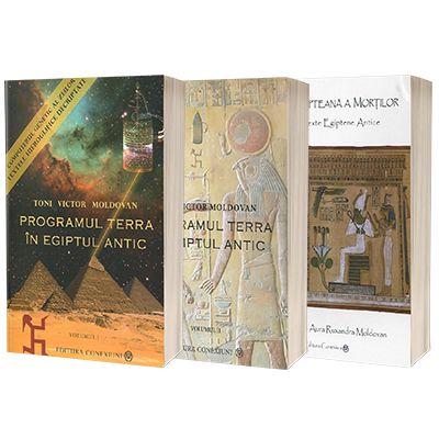 Programul Terra in Egiptul Antic: Pachet 3 carti de Toni Victor Moldovan [0]