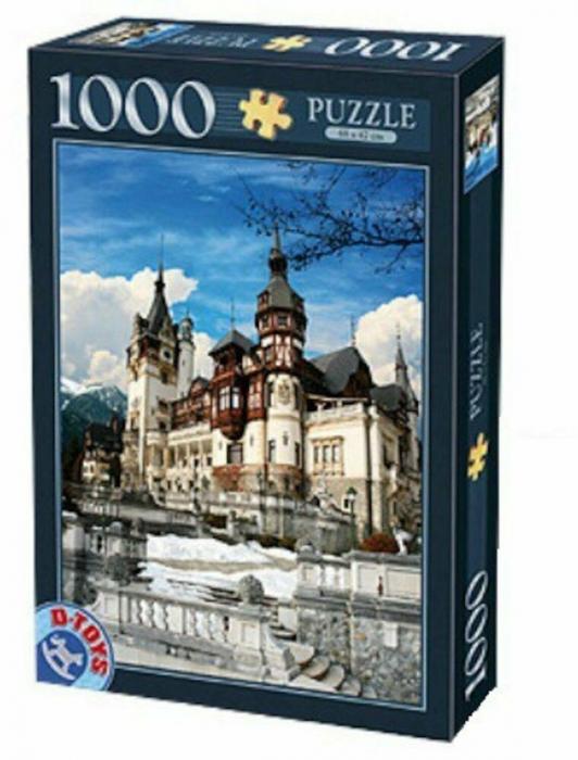 Puzzle Castelul Peles 1000 Piese D-TOYS [0]