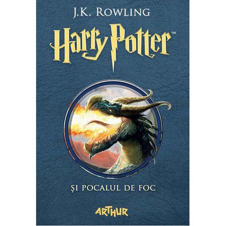 Harry Potter si Pocalul de Foc Vol.4 - J.K. Rowling 0