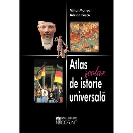 Atlas scolar de istorie universala de Adrian Pascu, Mihai Manea 0