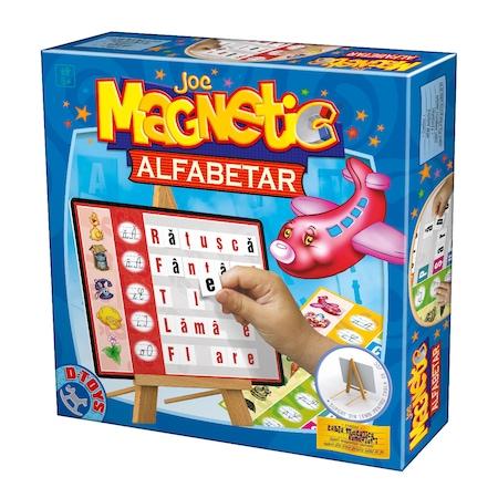 Joc magnetic Alfabetar cu Tabla D-TOYS [0]