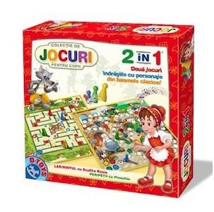 Colectie de Jocuri pentru copii 2 in 1 D-TOYS [0]