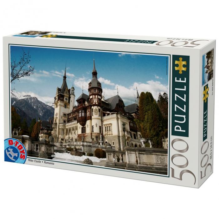 Puzzle Castelul Peles 500 Piese D-TOYS [0]
