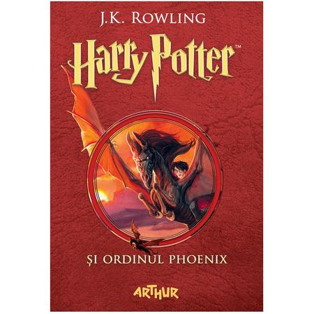 Harry Potter Si Ordinul Phoenix (Vol. 5) de J.K.Rowling 0