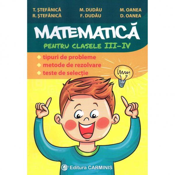 Culegere de Matematica pentru clasele III-IV 0