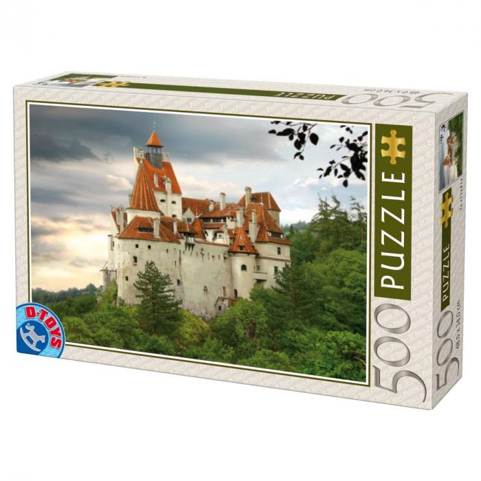 Puzzle Castelul Bran 500 Piese D-TOYS [0]