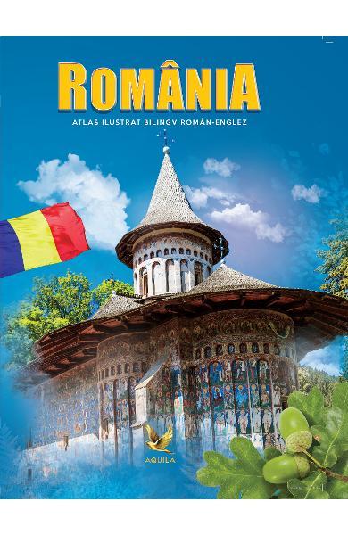 Romania. Atlas ilustrat bilingv roman-englez 0