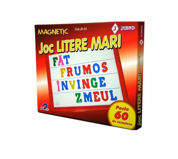 Joc Litere Mari Magnetic JUNO [0]