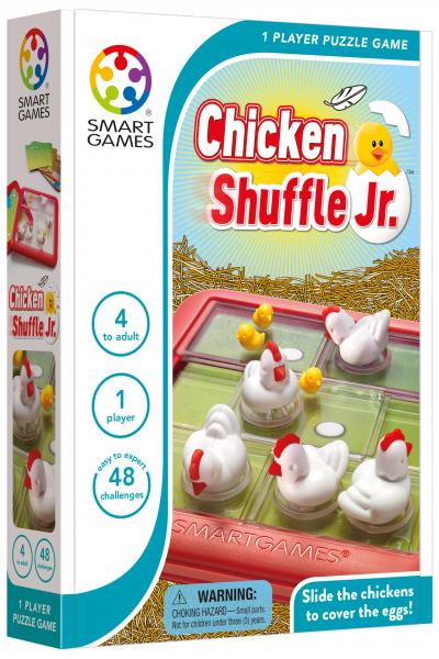 chicken Shuffle Jr. SMART GAMES happy color 0