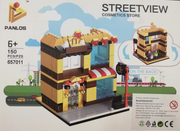 Streetview: Cosmetics Store. Set lego magazin de cosmetice [0]