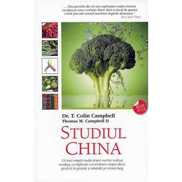 Studiul China de Colin Campbell, Thomas M. Campbell 0