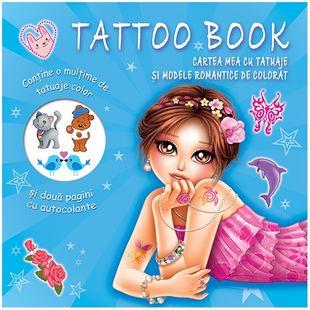 Tattoo Book. Cartea mea cu tatuaje și modele romantice de colorat 0