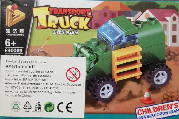 Transport Truck set lego Buldozer [0]