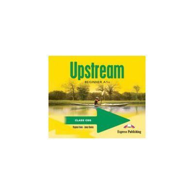 Curs lb. engleza Upstream beginner A1+ audio CD manual (set 3 cd-uri) 0