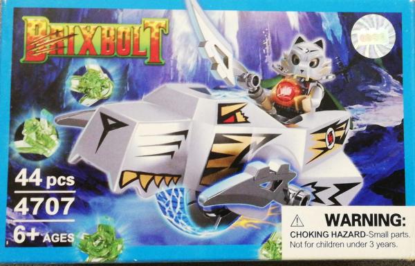 Brixbolt: Wolf. Set lego luptatori galactici [0]