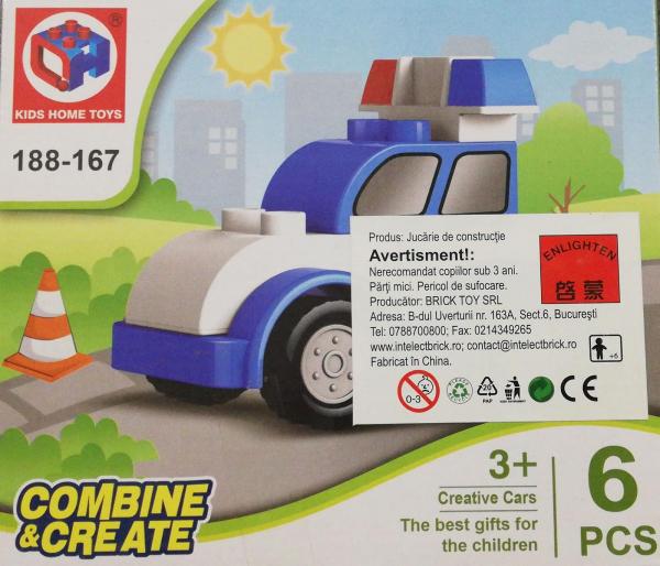 Combine and Create set lego masina de politie [0]