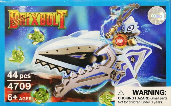 Brixbolt: Shark. Set lego luptatori galactici [0]