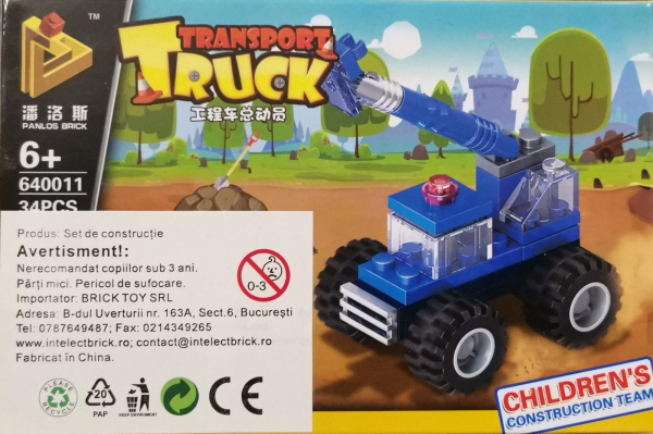 Transport Truck Set Lego Utilaje de Constructie [0]