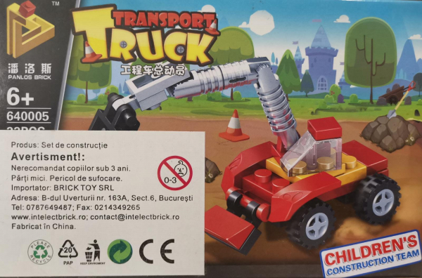 Transport Truck set lego excavator [0]