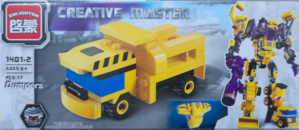 Creative master Dumpers. Set lego utilaje de constructie [0]