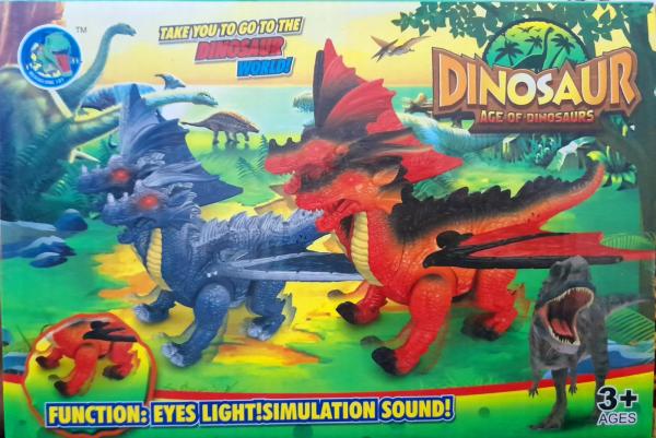 Figurina dinozaur cu lumini si sunete [0]