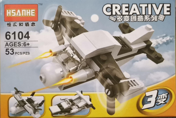 Creative set lego avion de lupta [0]