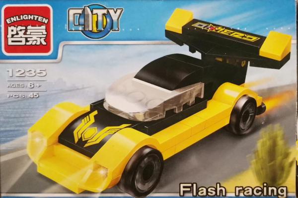 City Flash Racing set lego masina de curse [0]