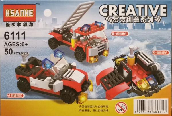 Creative set lego masina de pompieri 3 in 1 [0]