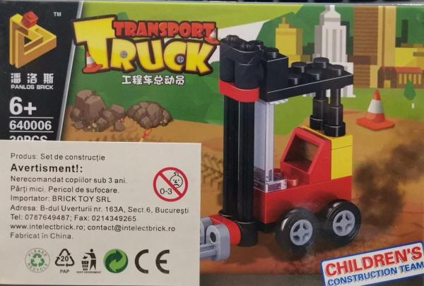 Transport Truck set lego stivuitor [0]