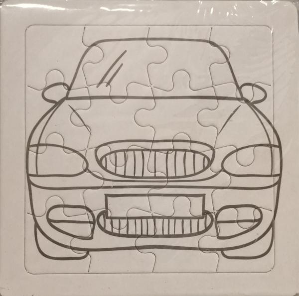 Set 3 puzzle-uri de colorat cu vehicule [2]