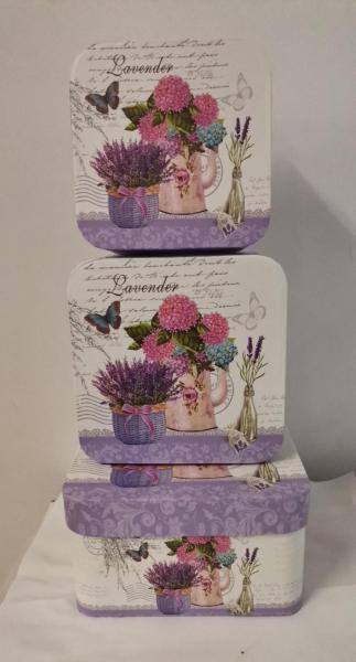 Set 3 cutii Lavender mari [0]