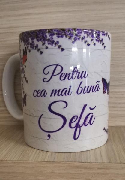 Cana ceramica Pentru cea mai buna Sefa [0]