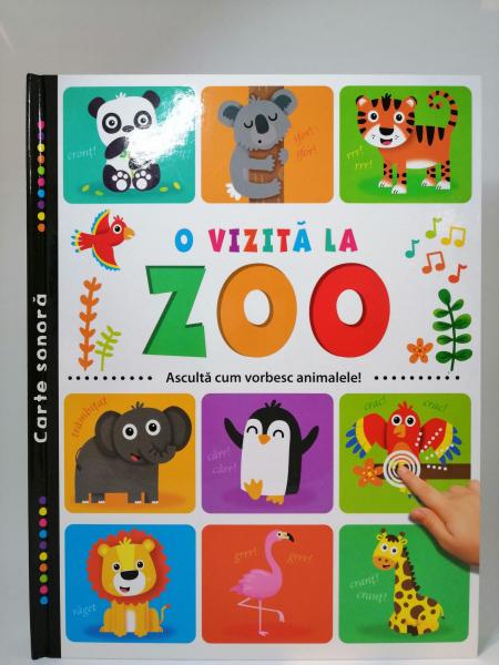 O vizita la zoo. Carte sonora [0]