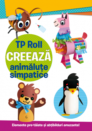 TP ROLL CREEAZA - Animalute simpatice