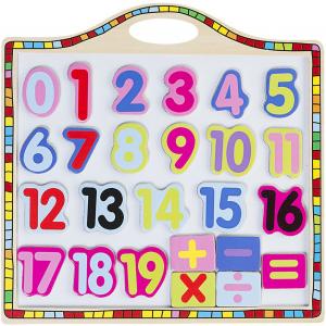 Tabla magnetica cu numere si operatii
