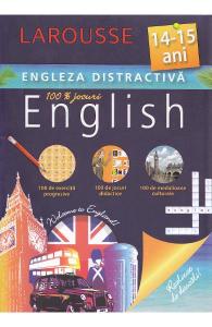 Engleza distractiva 14-15 ani (100 exercitii progresive, 100 de jocuri didactice, 100 medalioane culturale)
