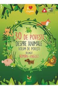 30 de povesti despre animale (roman-englez)