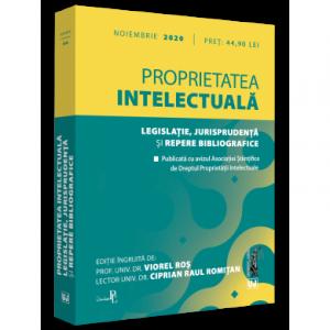 Proprietatea intelectuala. Legislatie, jurisprudenta si repere bibliografice 2020