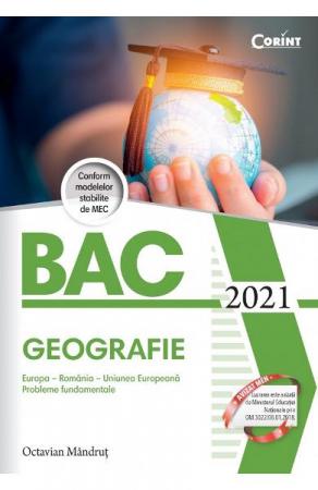 Bacalaureat 2021. Geografie