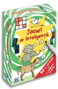 Jocuri de inteligenta. 50 de jetoane DPH