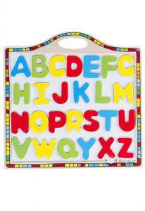 Tabla magnetica cu alfabet