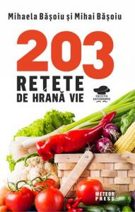 203 retete de hrana vie