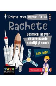 Prima mea carte STEM: Rachete