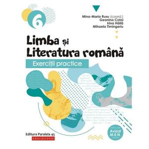 Exercitii practice de limba romana. Caiet de lucru clasa a VI a 2019-2020
