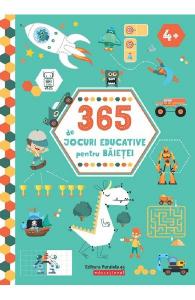 365 de jocuri educative pentru baietei 4 ani+