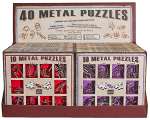10 metal puzzles Red3
