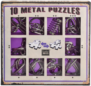 10 metal puzzle purple0