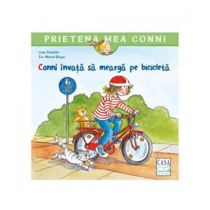 Conni invata sa mearga pe bicicleta