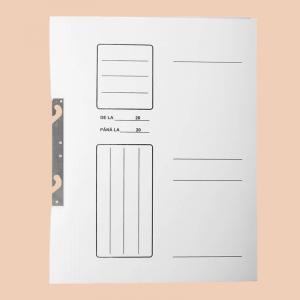 Dosar carton 1/1 alb SD