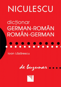 Dictionar german-roman, roman-german de buzunar